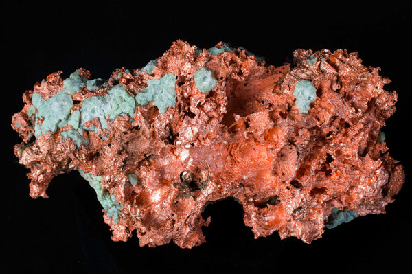 Raw Copper Nugget, $149.95, Houghton County, Michigan at Mystical Earth Gallery