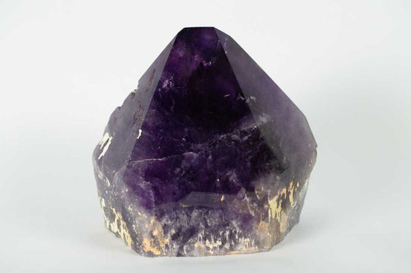 Front View Amethyst Generator with Dual Phantoms and Rainbow, $890 | Mystical Earth Gallery