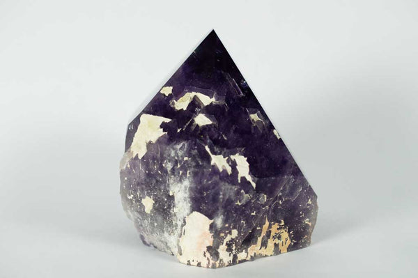 Side View #2 of Amethyst Generator with Dual Phantoms and Rainbow, $890 | Mystical Earth Gallery