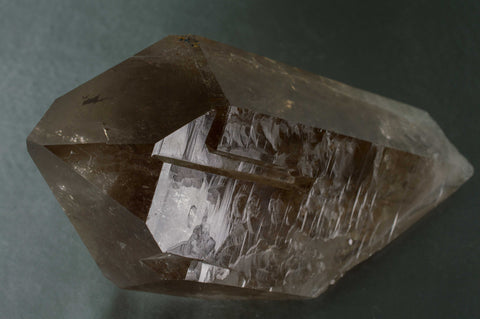 Smoky Quartz Natural Point, Rainbow, Extraordinary! From Brazil, $559.95 @ Mystical Earth Gallery