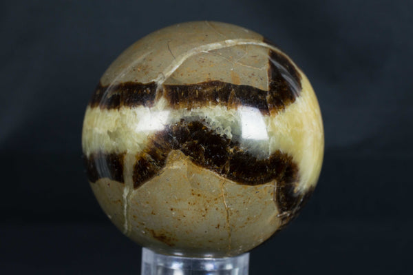 Septarian Sphere from Madagascar, $34.95 @ Mystical Earth Gallery