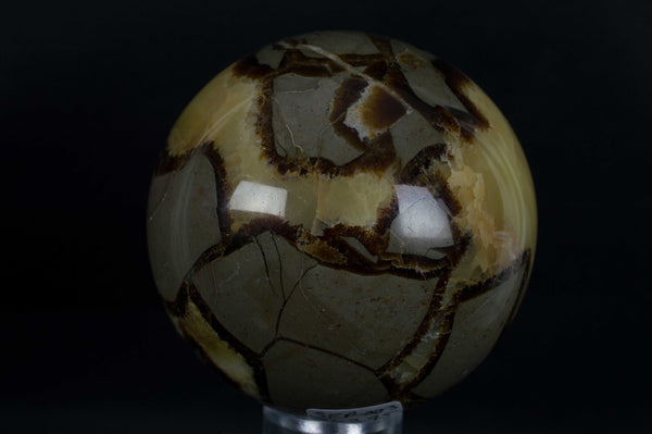 Septarian Sphere from Madagascar, $63.95 @ Mystical Earth Gallery