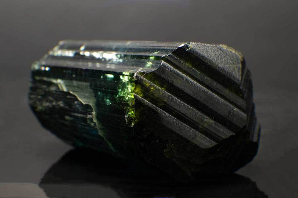 Indicolite Tourmaline with Green, Blue & Violet Sections for $3,599 at Mystical Earth Gallery (Tip View #2)