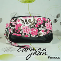 Clutch Bag - Four Daisies - Handmade by Carmen Jean