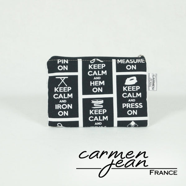Coin Pouch Pro - Keep Calm