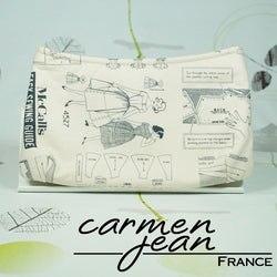 Clutch Bag - Sewing Pattern - Handmade by Carmen Jean