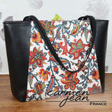 Everyday Tote Bag - Laura - Handmade by Carmen Jean