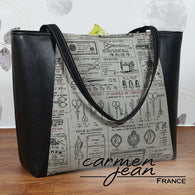 Everyday Tote Bag - Sew French - Handmade by Carmen Jean