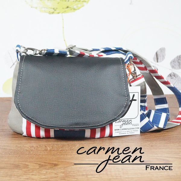 Jody Cross Body Bag - Admiral Stripes