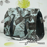 Nora Bag - Green Labels - Handmade by Carmen Jean