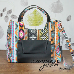 Rose Handbag - Aztec