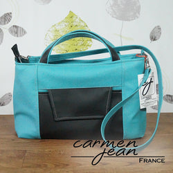 Rose Handbag (Modified) - Turquoise