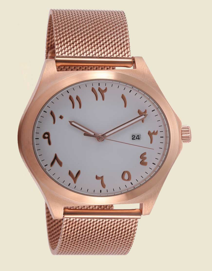 Minimalist Rose Gold Mesh