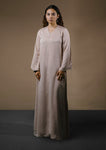 SERI LONG DRESS (NUDE)