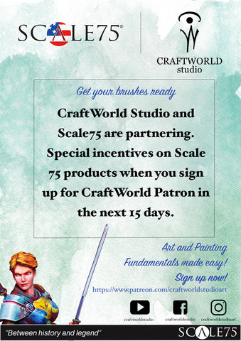 CraftWorld Studios & Scale 75 Team Up