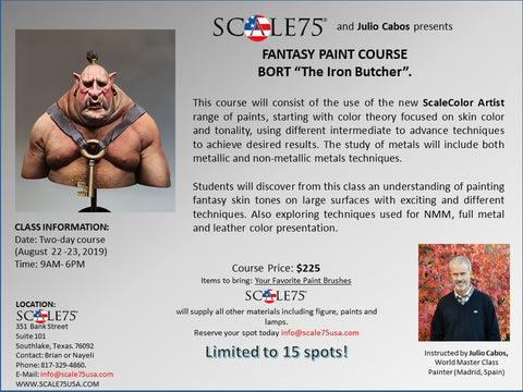Scale 75 USA August Painting Courses