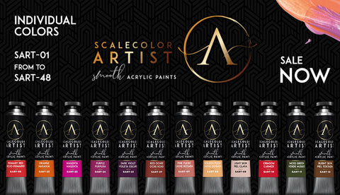 SCALE ARTIST SMOOTH ACRYLICS AVAILABLE NOW