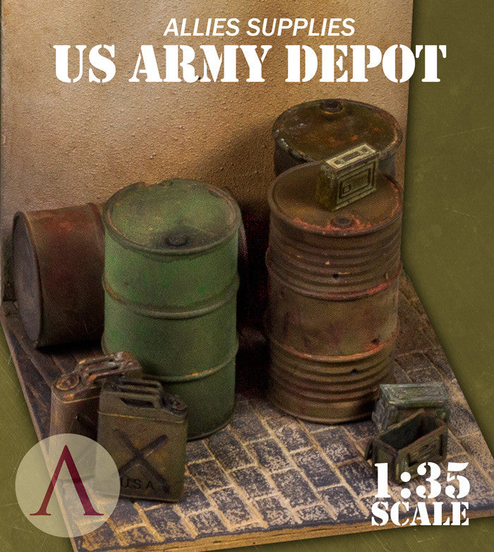 ALLIED SUPPLIES US ARMY DEPOT