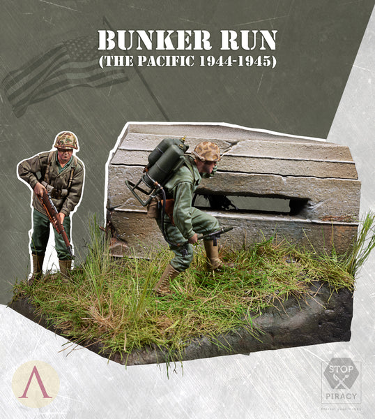 BUNKER RUN (THE PACIFIC, 1944-1945)