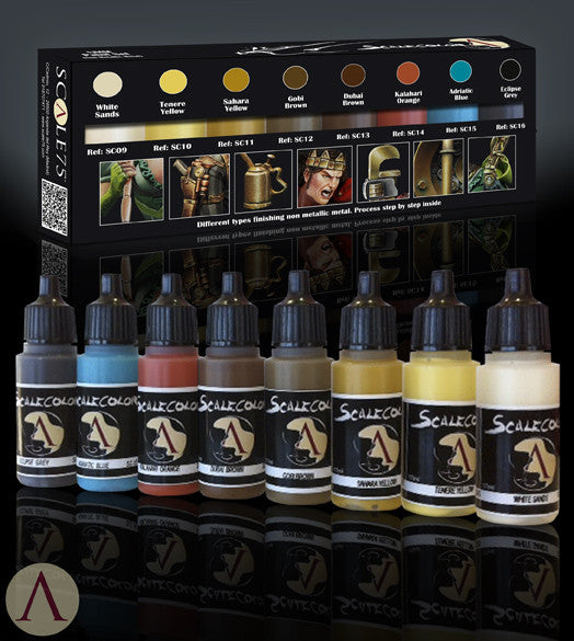 NMM PAINT SET GOLD AND COPPER