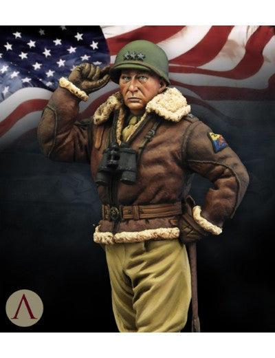 GEORGE S. PATTON BASTONGE 1945