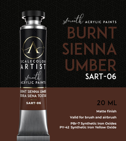 BURNT SIENNA UMBER