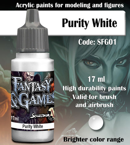 PURITY WHITE