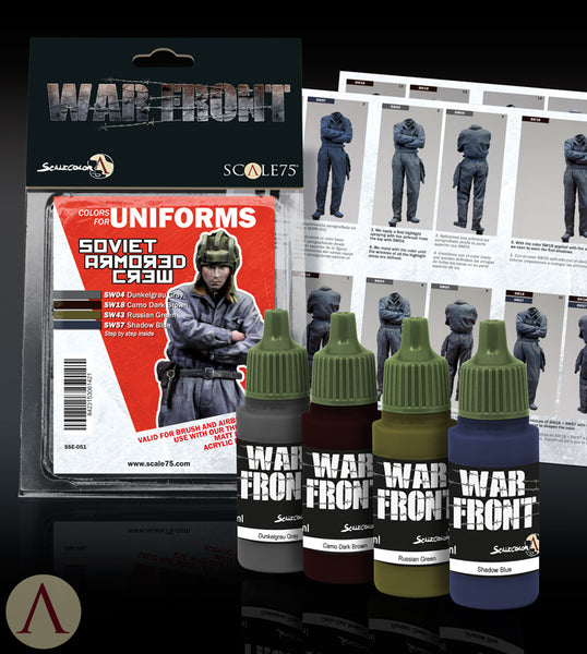 SOVIET ARMORED CREW PAINT SET
