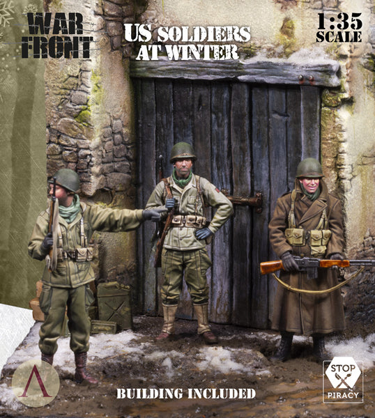 US SOLDIERS AT WINTER