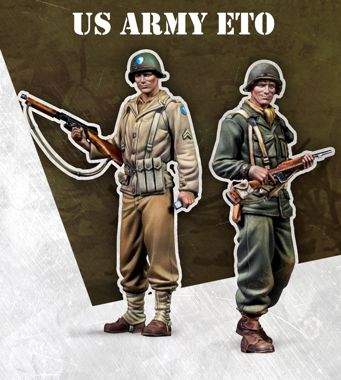 US ARMY ETO 1:72