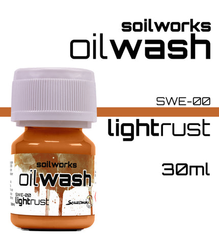 LIGHT RUST OIL WASH