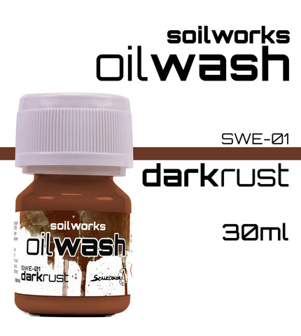 DARK RUST OIL WASH