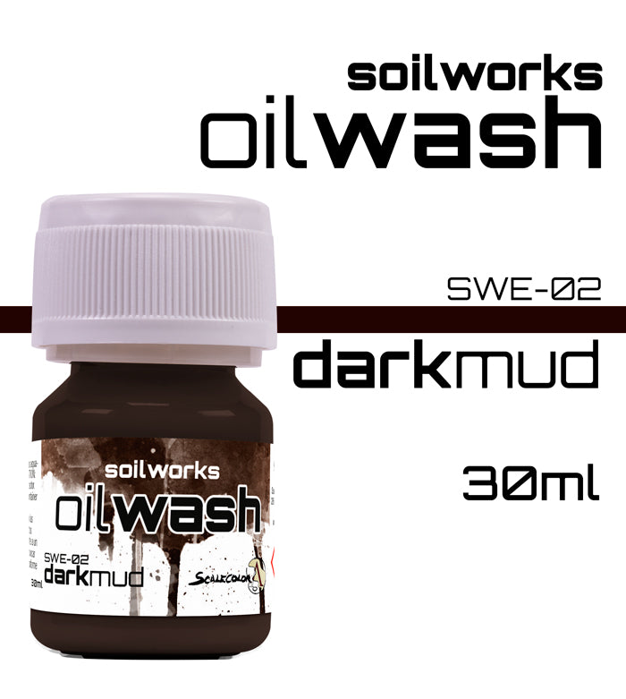 DARK MUD OIL WASH
