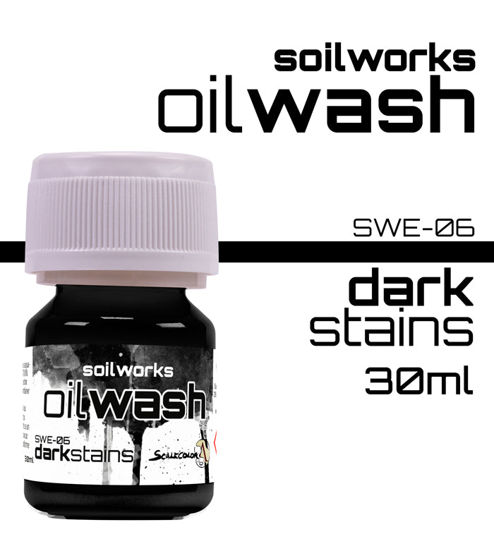 DARK STAINS OIL WASH