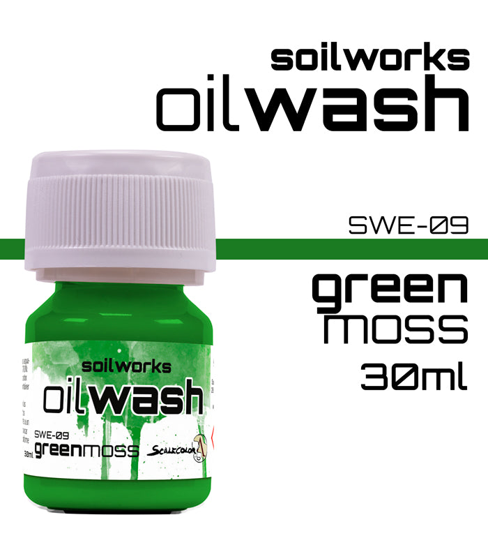 GREEN MOSS OIL WASH