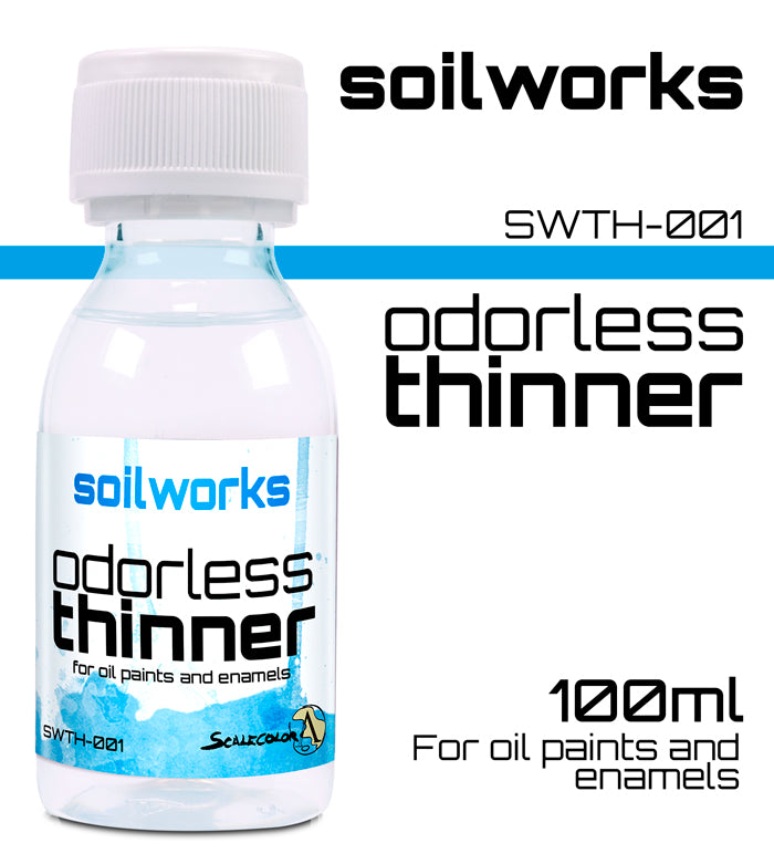 ODORLESS THINNER FOR OILS AND ENAMELS