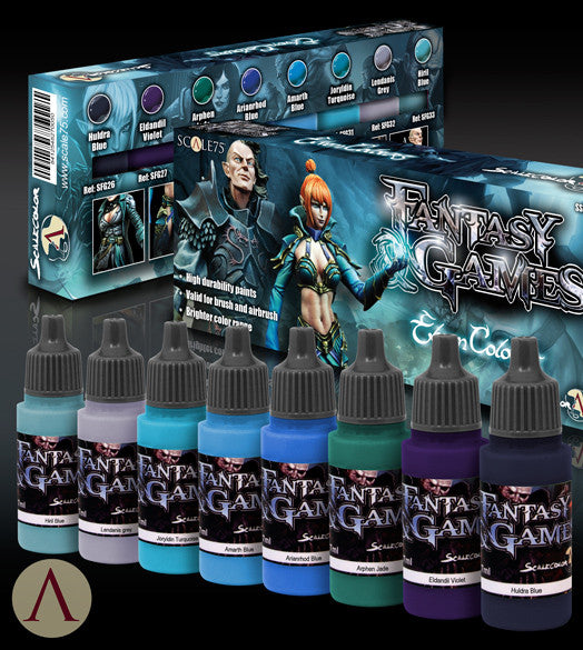 ELVEN COLORS PAINT SET