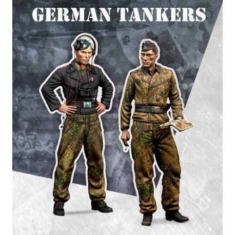 GERMAN TANKERS 1:48