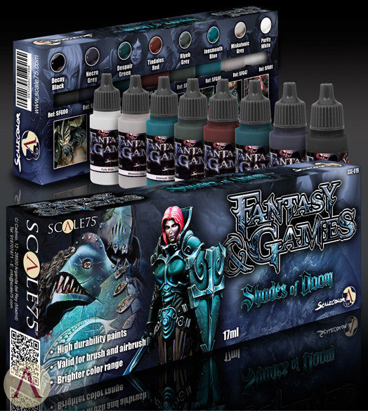 SHADES OF DOOM PAINT SET