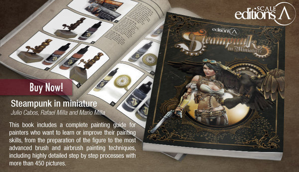 STEAMPUNK IN MINIATURE BOOK