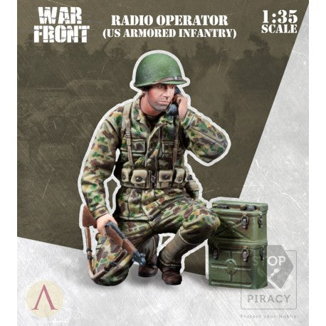 RADIO OPERATOR US ARMORED INFANTRY