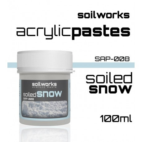 ACRYLIC PASTE SOILED SNOW