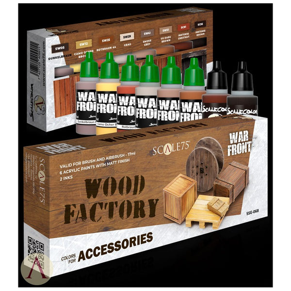 WOOD FACTORY - COLORS FOR ACCESSORIES