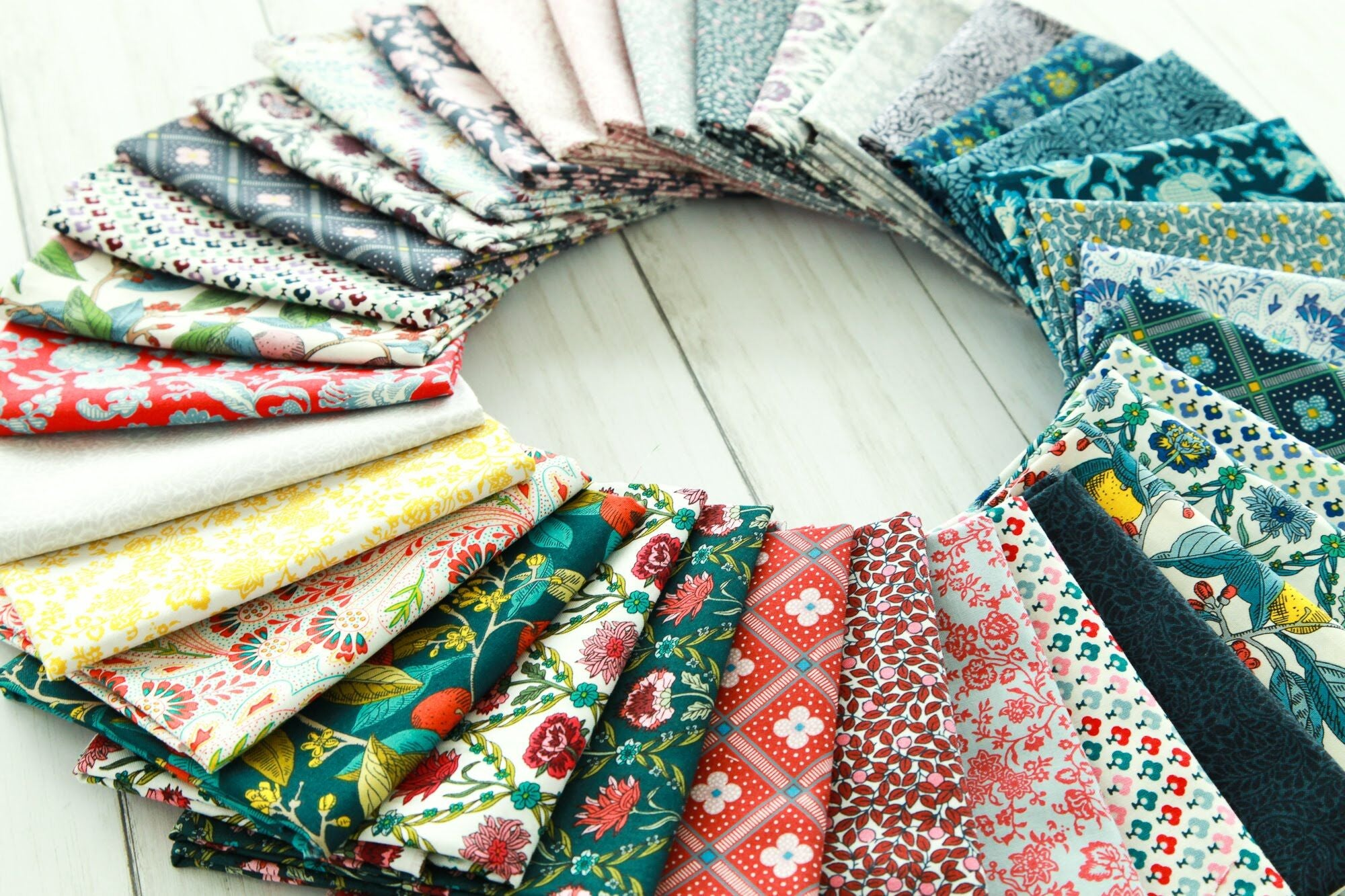 Latest Liberty Cotton Collection - 'Summer House' has arrived.....
