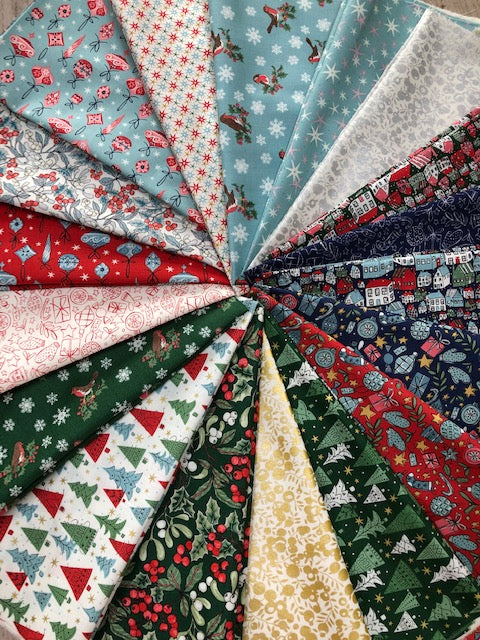 The New Liberty 'A Festive Collection' Christmas fabrics...