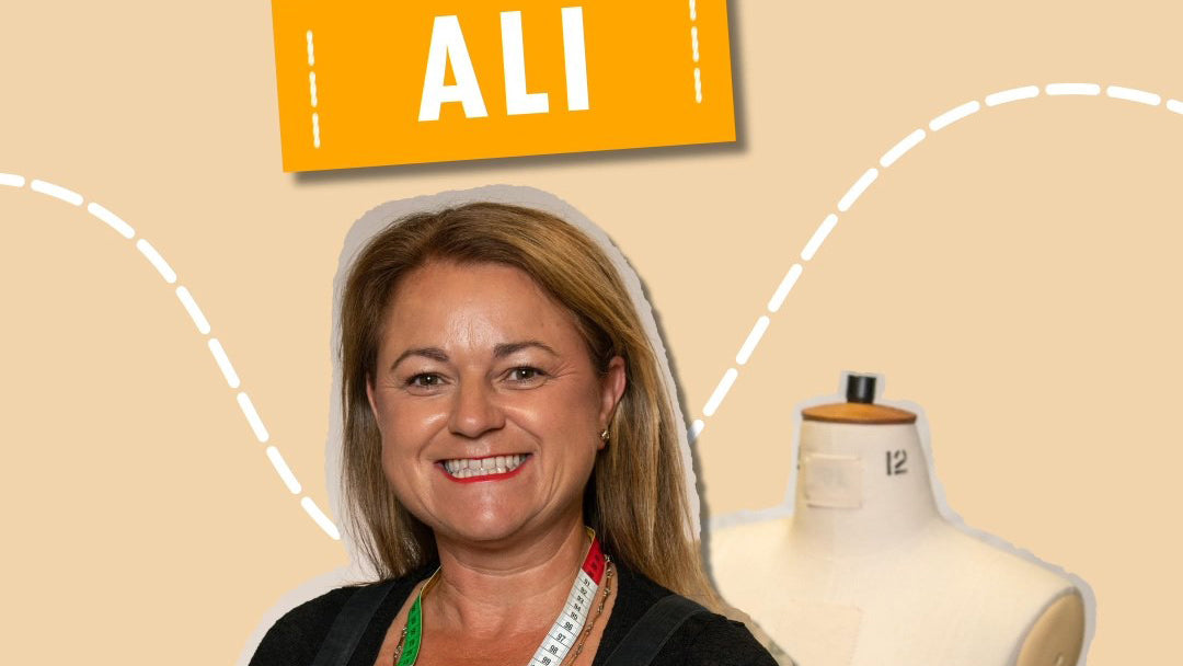 Ali The Great British Sewing Bee 2020