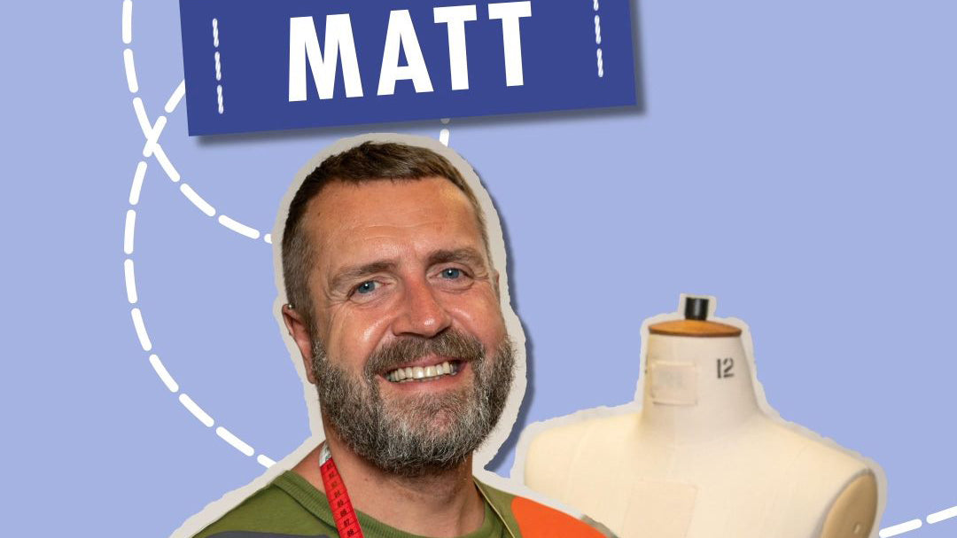 Matt The Great British Sewing Bee 2020