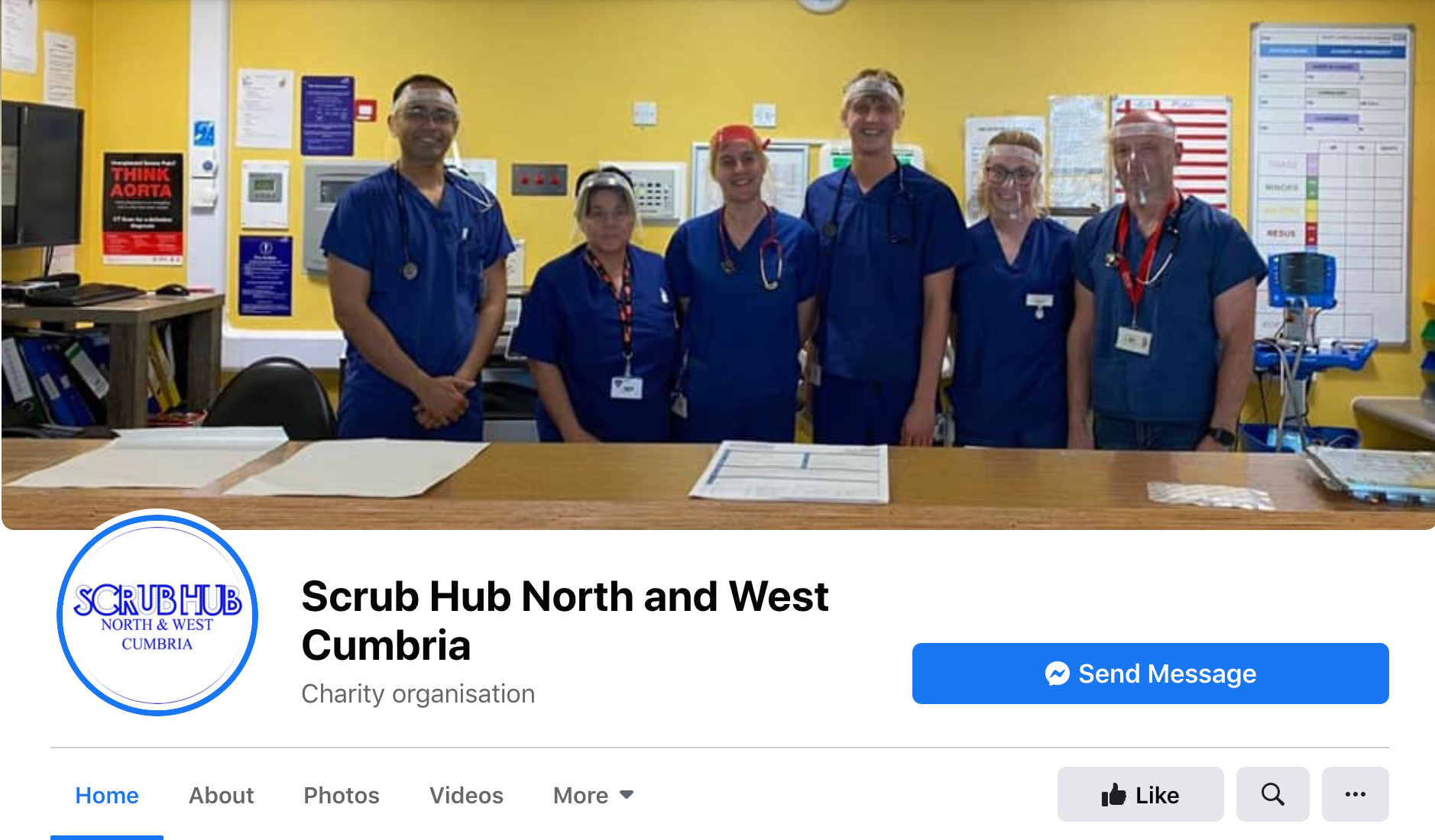 The North West Cumbria Scrub Hub