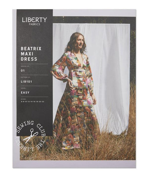 Liberty Beatrix Maxi Dress