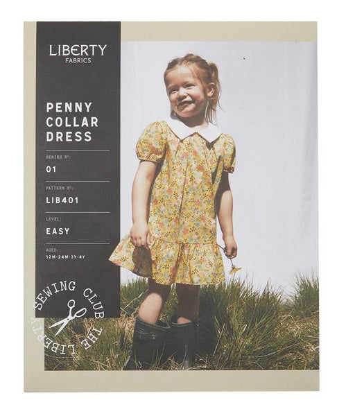 Liberty Penny Collar Dress